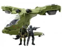 Halo Nave Unsc Hornet Odst Marine Pilot Jada Metal