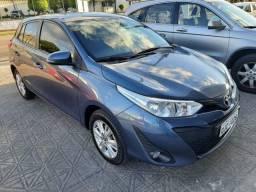 50% entrada + 48x 1.113,00 - Toyota Yaris XL Automático 2019 - Só 48.300km