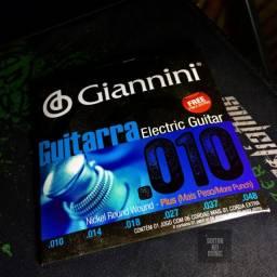 Corda Guitarra .010 Giannini Nickel Round Wound (Produto Novo)