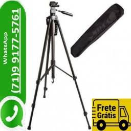 Tripé Universal 1,70 M Preto Com Bolsa Video foto triPod Smartphone Camera (NOVO)