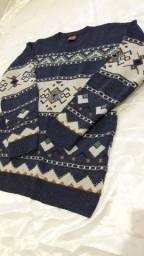 Blusão de lã estilo americano