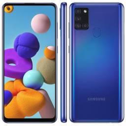 Samsung Galaxy A21s com 1 mês de uso