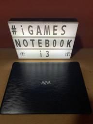Notebook i3 - parcelo no cartão