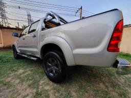 Toyota Hilux 2.7 Gasol/Gnv 5 Ger ( Único dono 2009 com apenas 70.000km ) Única no Brasil