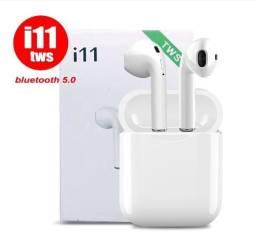Compartilhar: 0 Fone De Ouvido I11 Tws original Sem Fio iPhone E Android Branco/Preto