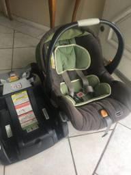 Bebê conforto Chicco com base com sistema Isofix - Ainda Disponível (26/10)