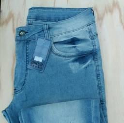 Calça jeans nova tam 44 (veste 42)