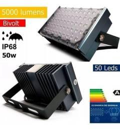 Refletor Modular Montável de LED Bco. Frio para Galpões - 81941