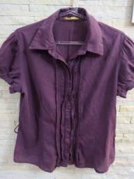 Camisa feminina Makenji
