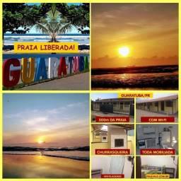 Casas praia Gua.ra tuba poucos metros do M.A.R
