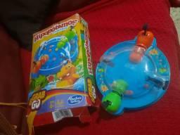 Jogo Hipopotamos comiloes - pouquissimo uso.