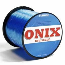 Linha Monofilamento Onix Invisible Fastline Azul 0,33mm