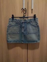 Minissaia jeans Mofficer