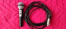 Microfone / mais cabo