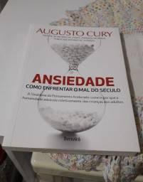 Livro: Ansiedade Como Enfrentar o Mal do Século - Augusto Cury
