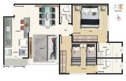 Apartamento à venda, 2 quartos, 2 vagas na Cidade Nova