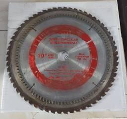 Discos de serra 10'' e 12'' Usados