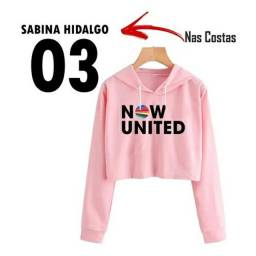 Cropped Moletom Now United Sabina