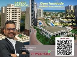 Título do anúncio: Oportunidade | Patamares | 3 suítes | Melhor empreendimento | 2 Vagas | Parque Tropical