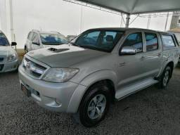 HILUX 2008/2008 3.0 SRV 4X4 CD 16V TURBO INTERCOOLER DIESEL 4P AUTOMÁTICO
