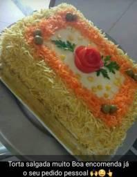 Salgados bolos tortas salgadas empadão