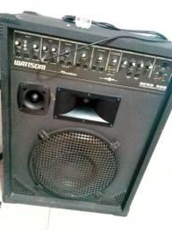 Caixa amplificada Wattson turbo bass ,NPRC 500 multi-uso combo.