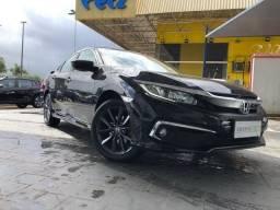 New Civic Exl 2020 - Com 18.750 Kms Rodados - Garantia de Fábrica - Único Dono