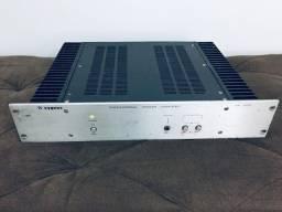 Amplificador Cygnus PA 800 Escovado padrão rack