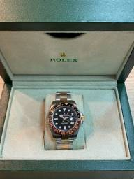 Relógio ROLEX Gmt Master ll / rose