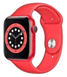 Relógio Apple wach série 6 44 mm vermelho