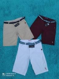 Bermudas jeans/sarja