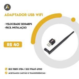 Adaptador Usb WIFI 1200mbp/s