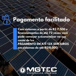 Sistema de Energia Solar em até 12X Sem Juros