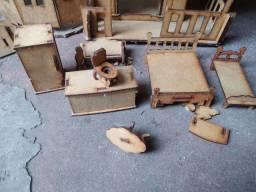 Casinha de boneca mdf