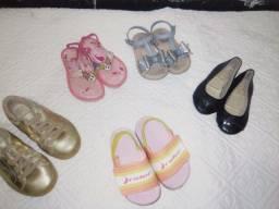 Lote calçados enims