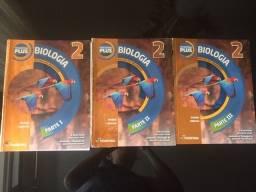 Box de livros de Biologia