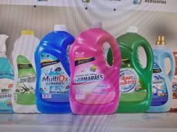 Revenda produtos de limpeza