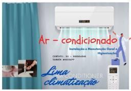 Instalação e manutenção e ar condicionado