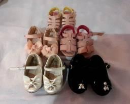 Sapatinhos infantis feminino