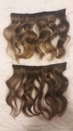Mega Hair. Faixas de cabelo 25cm
