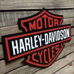 Quadros para decorar Harley Davidson