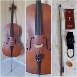 Violoncelo Eagle CE 300 4/4 - Ajustado por Luthier