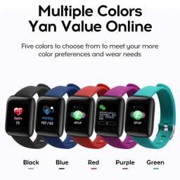 Smartwatch 116 plus 119 plus vários modelos e cores