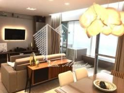 Apartamento Gran Vista com 117m², Ponta Negra, 3 Qtos, linda decoração