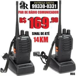Radio comunicador Baofeng ATÉ 14KM (entrega grátis)