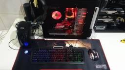 Pc gamer , com mouse teclado...