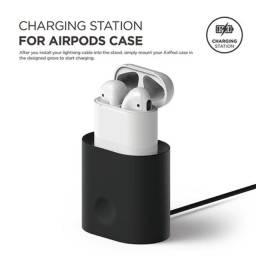 Mini base de carregamento para airpods