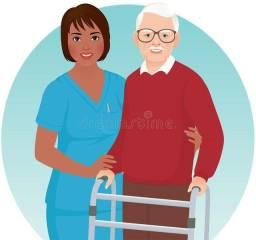 Acompanhante hospitalar e residêncial
