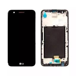 Tela Frontal Touch + Lcd LG K10/ K10 Power/ K10 Pró