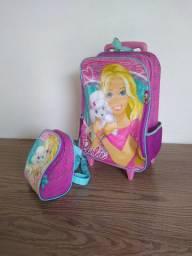 2 mochila com lancheira Aceito cartão